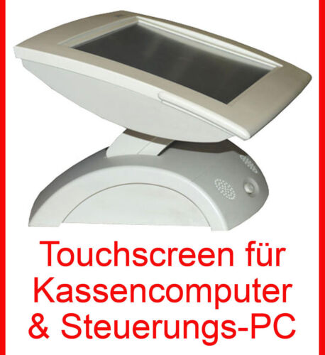 """Pos Monitor 30,5cm 12 """" TFT Display with High-Quality 3com Touch Screen Glass"""