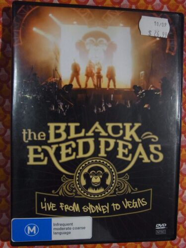 The Black Eyed Peas - Live From Sydney to Vegas (DVD, Region 4) g15