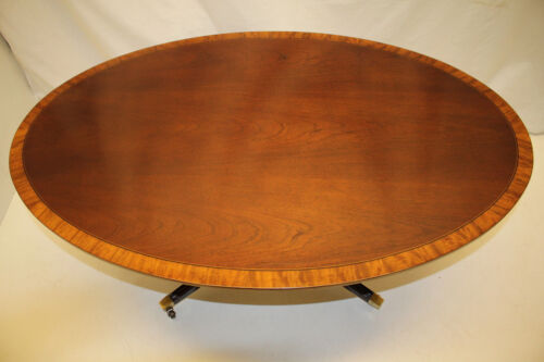 Sheraton Regency   Coffee Table with Satinwood Banding, circa 1920s'