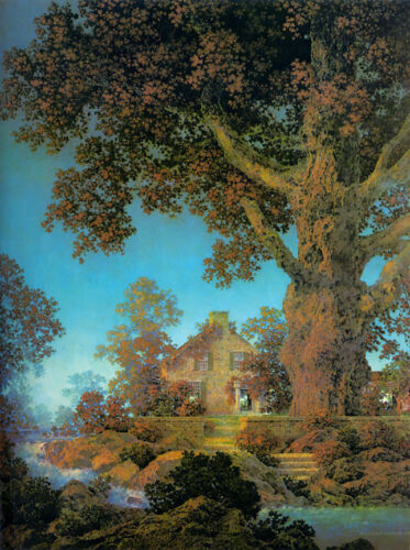 Morning Light  by Maxfield Parrish   Giclee Canvas Print Repro