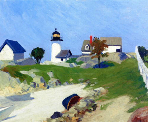 Squam Light  by Edward Hopper   Giclee Canvas Print Repro