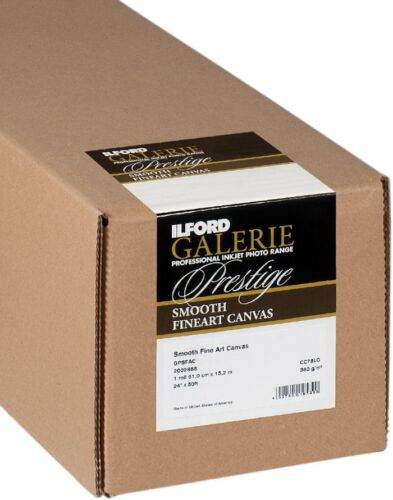 "Ilford Galerie Smooth Fine Art Canvas 300gsm 61xm x 12mtr (24"")"