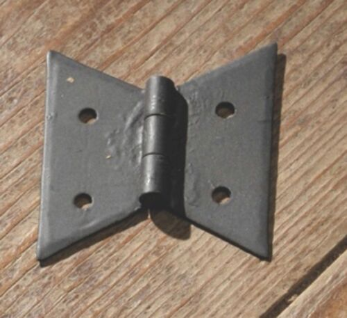 "Pair of Large Butterfly Hinges 2"" H by 2.25""W PM217 - FREE SHIPPING!!!"
