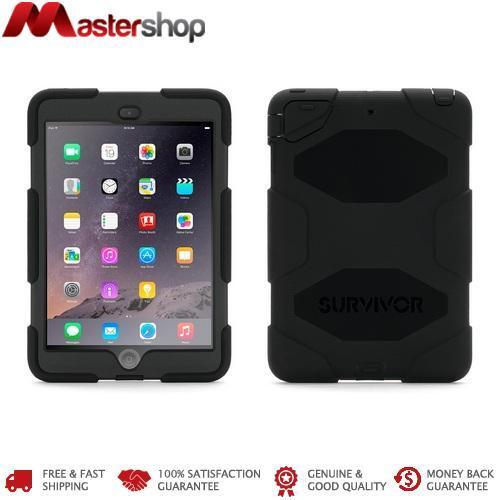 Griffin Survivor Case suits iPad Mini / Mini Retina / Mini 3 - Black