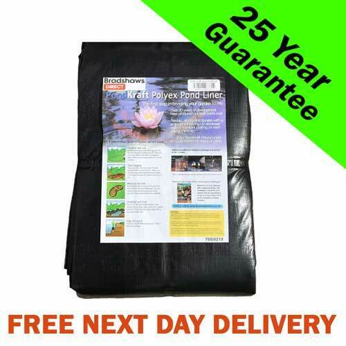 Pond Liner with 25 Year Guarantee. Next Day Delivery