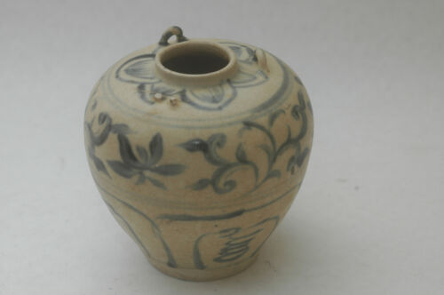 CHINESE MING DYNASTY CRACKWARE VASE 1400-1600A.D.