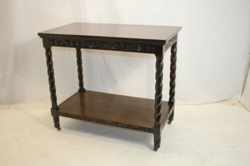 Beautiful Antique Walnut Console Server Table Circa 1920's