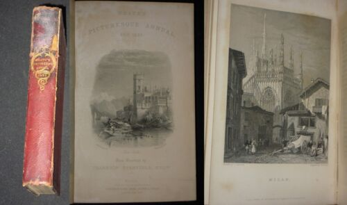***Travelling sketches...Italy***1832 CON 26 INCISIONI RAME DI CITTA' ITALIANE!!