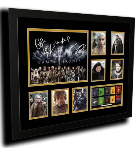GAME OF THRONES SIGNED LIMITED EDITION FRAMED MEMORABILIA