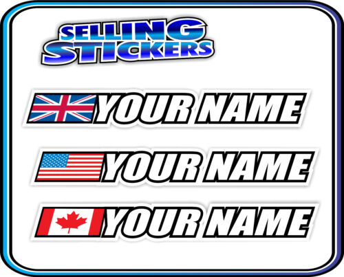 BMX STICKER CUSTOM NAME, COUNTRY TREK DK EASTERN DECAL PERSONALIZE YOUR BIKE S3