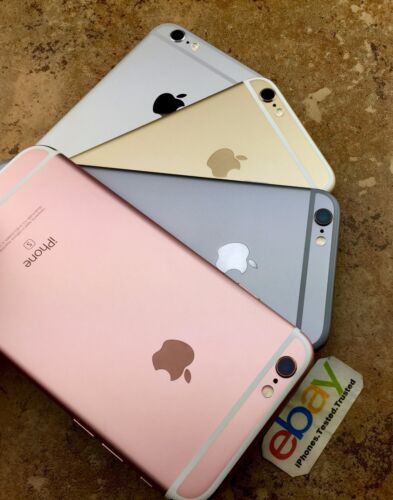 Apple iPhone 6S Rose Gold Silver Space Gray Verizon AT&T Unlocked 16/64GB/128GB