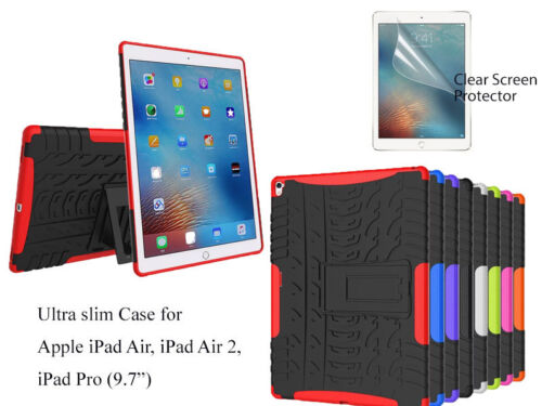 Screen Protector/Shockproof Heavy Duty Case For iPad Air /Air 2, iPad Pro 9.7""