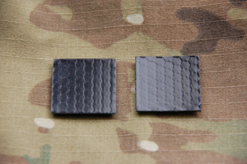 """1"""" IR Squares x 2 Patch Infrared IFF Marker US Army Navy Air Force SEAL USN USAFArmy - 48824"""