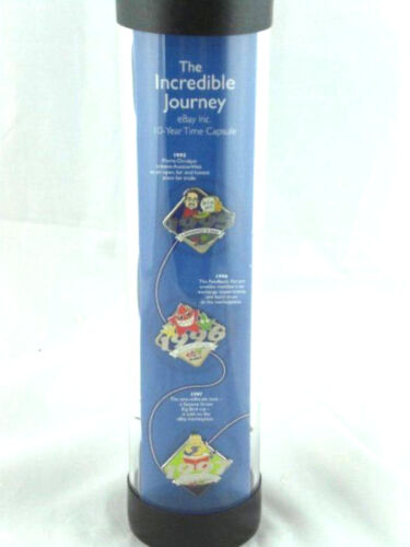 Ebay Pins 10 Year Sealed Time Capsule The Incredible Journey NEW 1995-2005 HTF