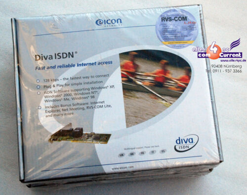 New New eicon Diva 2.02 Isdn PCI Adapter 305-189 Dialogic 800-675-03 810-314-03