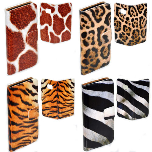 For Nokia Series - Animal Fur Skin Print Theme Wallet Mobile Phone Case Cover