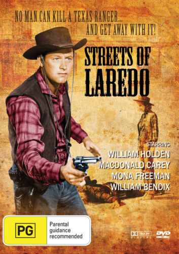 Streets of Laredo (1949) * William Holden * Western Classic