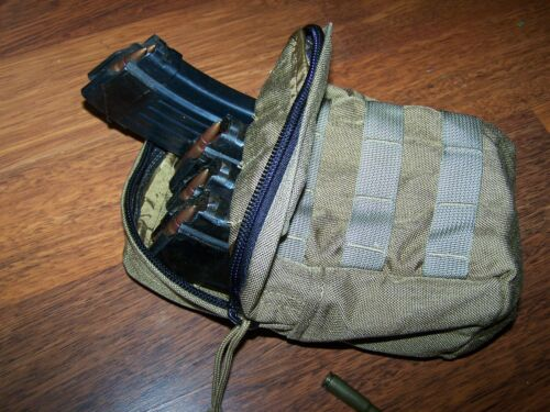 SPECTER Military Coyote MOLLE Utility Canteen Mess Kit Ammo Magazine & P38Pouches - 70991