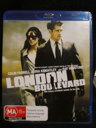London Boulevard - Colin Farrell (Blu-ray, 2012, Region B) b4