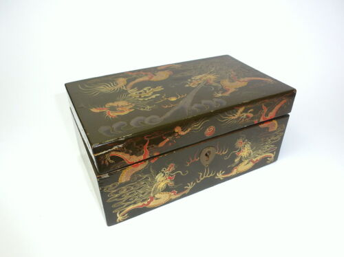 Casket Tin China um 1910