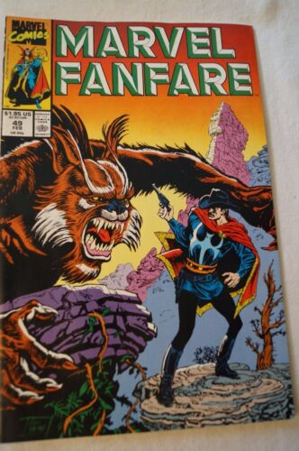 CLASSIC MARVEL COMIC - Marvel Fanfare - Dr.Strange - Strange on The Range
