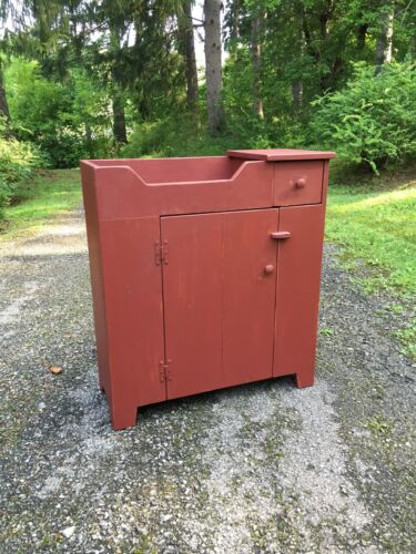 Primitive Handcrafted Dry Sink (Whitefield)
