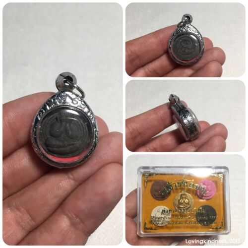 High Quality Mini Phra Pidta Closed Eyes Thai Buddha Amulet 1 Black Item Only