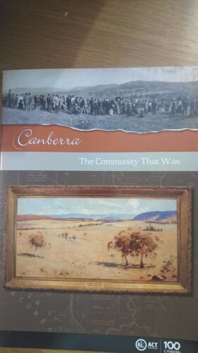 canberra THE COMMUNITY THAT WAS david headon