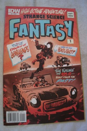 CLASSIC IDW COMIC BOOKS - Strange Science Fantasy - Issue # 1 - Gearheads ?