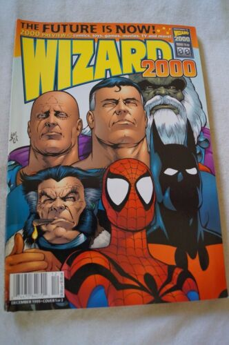 CLASSIC WIZARD - 2000 - Comic Book Magazine - Heroes, Info, Facts, Articles.