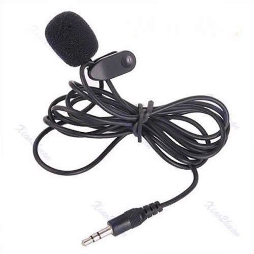 Mini Tie Lapel Lavalier Clip Microphone for Lectures Teaching 3.5mm Useful