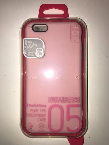 SwitchEasy Numbers Case For iPhone 6 / 6S Plus - Baby Pink
