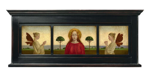 """""""Madonna with Two Angels"""" James Christensen Limited Edition Canvas - Framed"""