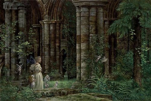 """""""Queen Mab in the Ruins"""" James Christensen Limited Edition Fine Art Print"""