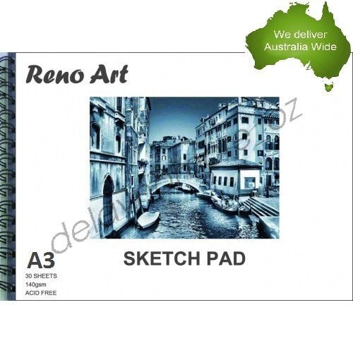 A3 Sketch Pad 140gsm Atrist Painting Art Paper Sketchbook  Drawing Craft Pastel
