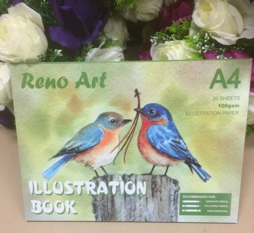 A4 Sketch Pad 110gsm Atrist Painting Art Paper Illustration Book Drawing Craft