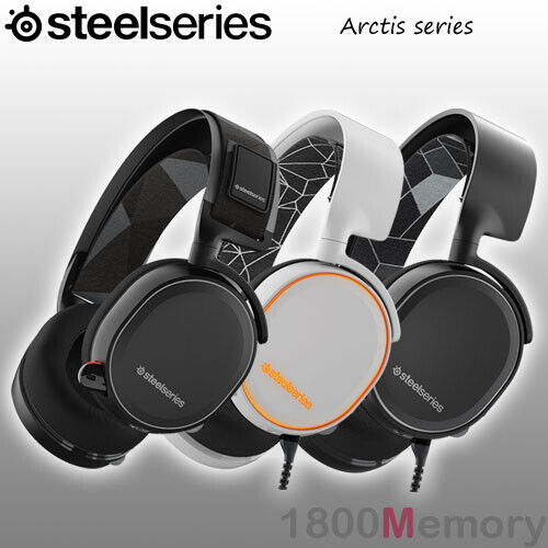GENUINE SteelSeries Arctis 1 3 5 7 9X Gaming Headset 2019 Ed for PC Mac XBox PS4