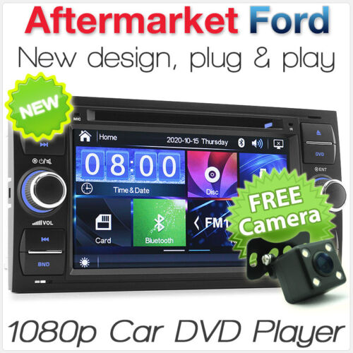 Ford Fiesta Focus Transit Car DVD Player Stereo Head Unit Radio MP3 USB CD SD OZ