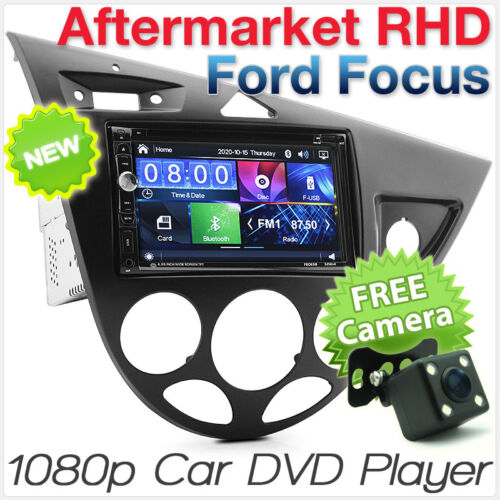 Ford Focus MK1 Car DVD MP3 Player Stereo Head Unit Radio USB CD Fascia ISO Kit Z