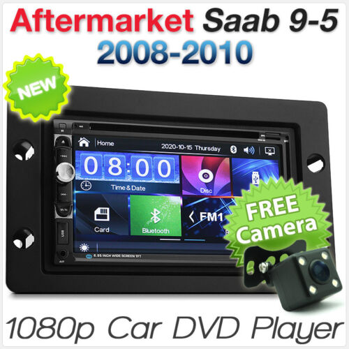 Saab 9-5 95 Car DVD MP3 Player Stereo Radio Head Unit USB Fascia Facia ISO Kit