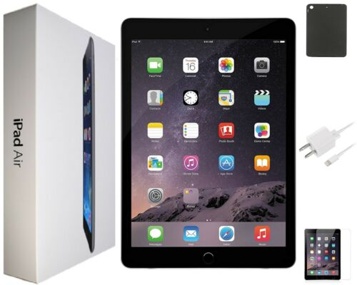 Apple iPad Air 1st Gen. - 9.7inch, 16GB, Space Gray, Wi-Fi Only -Open Box/Bundle