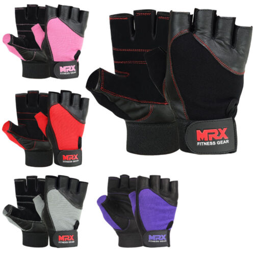 Weightlifting Gloves Gym Training Bodybuilding Work Out Lifting Glove Men Women