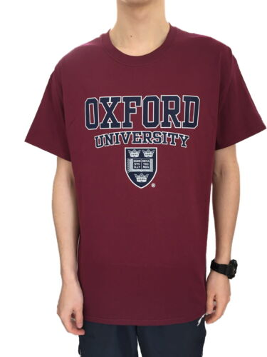 Official Oxford University Crest T-shirt - Maroon - Official Apparel