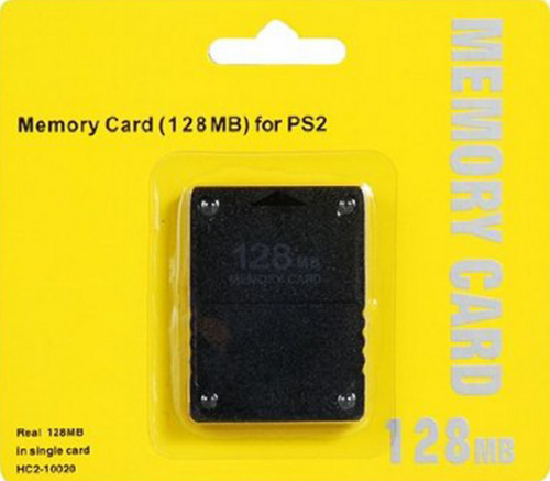 128MB MEMORY CARD FOR PLAYSTATION2 PS2  NEW AU