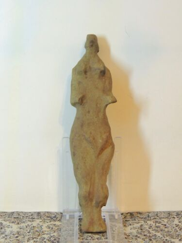 Antique Rare Giant Stone Figure statuette,mother godess,fertility,idol,alien