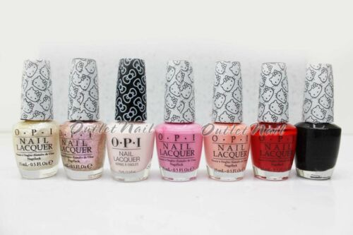 OPI Nail Lacquer HELLO KITTY Collection Colors H82 H83 H86 H87 - Pick ANY Shades