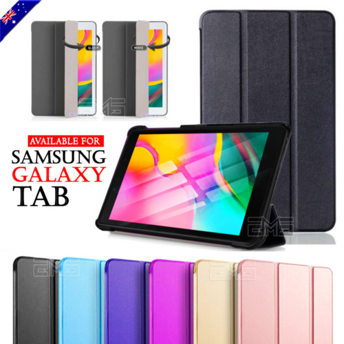"""Magnetic Smart Flip Case Cover For Samsung Galaxy Tab A 7.0 8.0"""" 10.1"""" 2019 10.5 <br/> 【SMART CASE-Sleep/Wake up Mode】【Free Protector +Stylus】"""