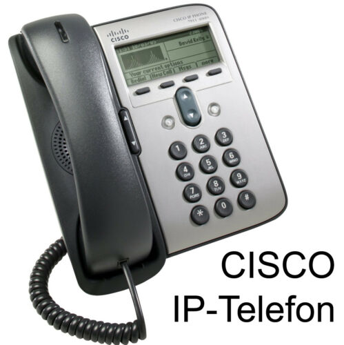 Cisco CP-7911G Ip-Phone CP7911 IP Telephone in Very Good Condition Top Condit C