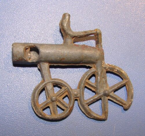 ANCIENT SIGNAL WHISTLE, TIN BRONZE, ORIGINAL. *RARITY*