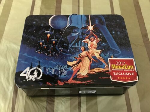 Star Wars 40th Anniversary Lunch Box - MegaCon 2017 Exclusive